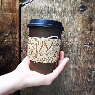 Coffee sleeves make your coffee more com