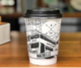 These branded double wall cups look abso