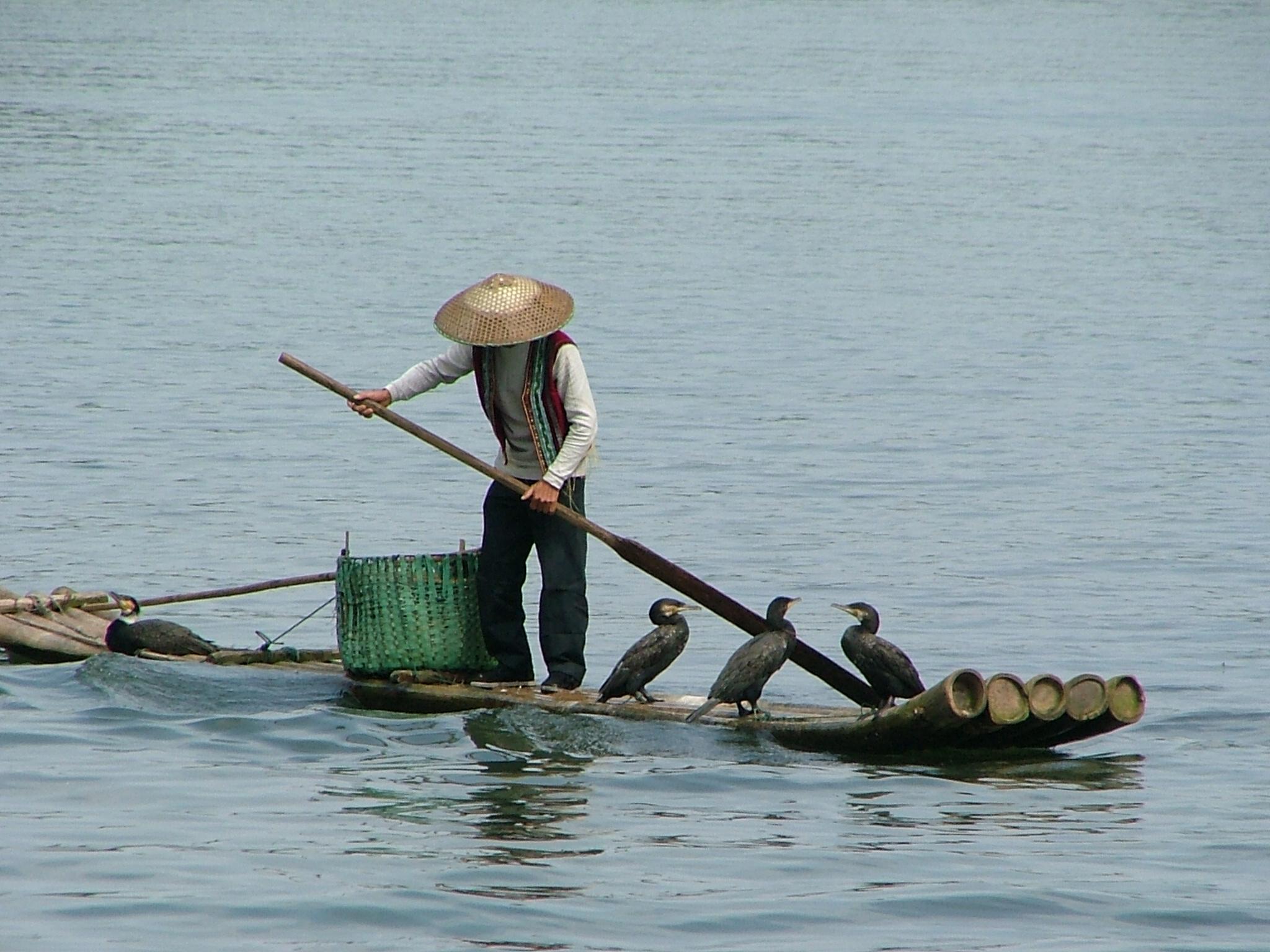 נהר הלי, גווילין, סין