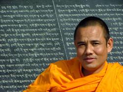 נזיר בדארמסלה, צפון הודו