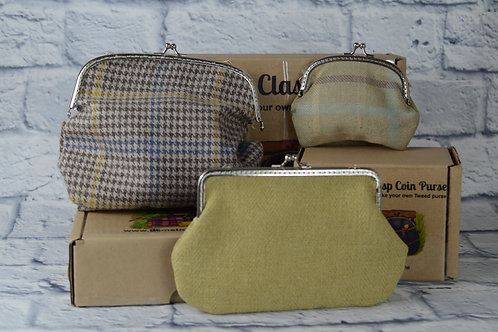 Make Your Own - Tweed Purses