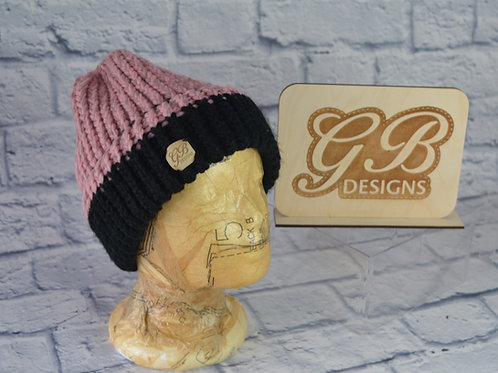 Hand Knitted Ponytail Hats