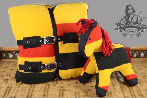 Horse Rug Cushion
