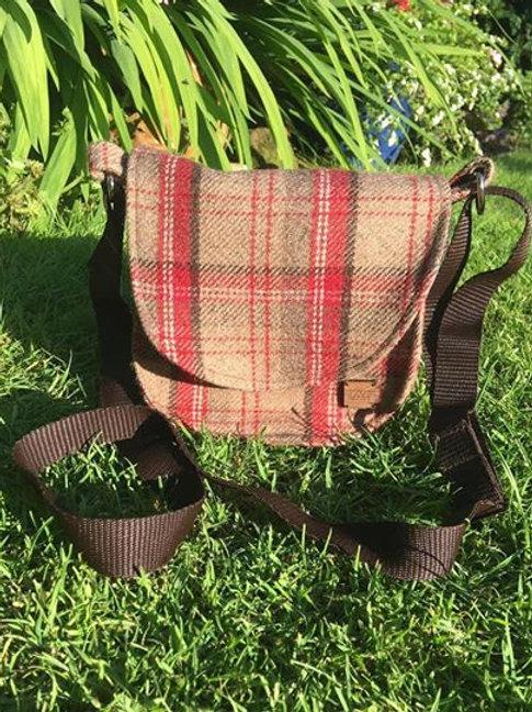 'The Heacham' Plaid Satchel Bag