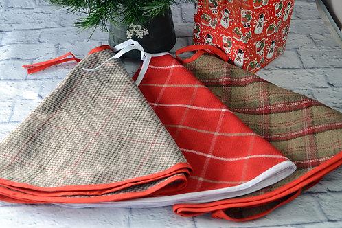 Tweed Christmas Tree Skirts