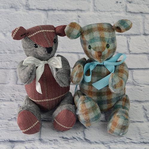 Tweed Teddy Bear