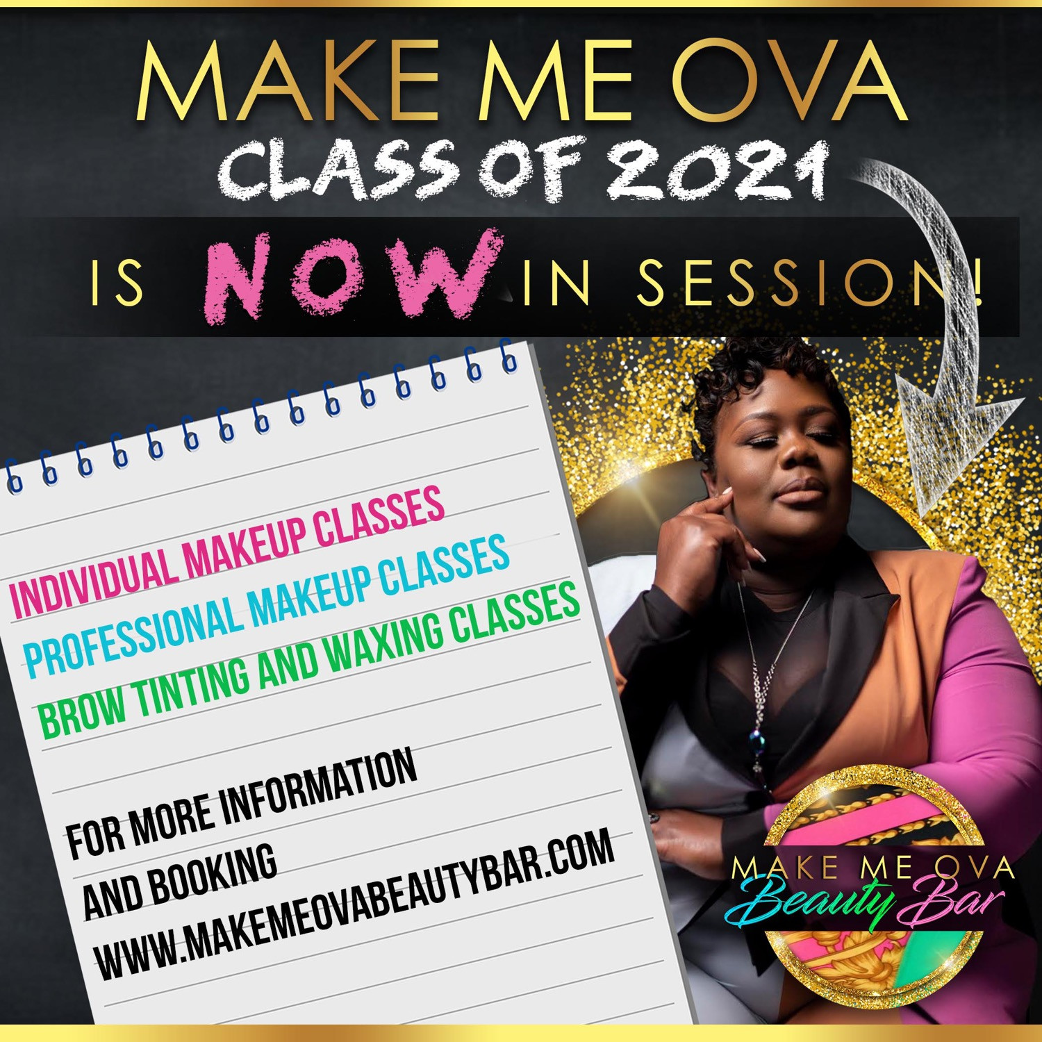 One on One MAkeup Artist Class