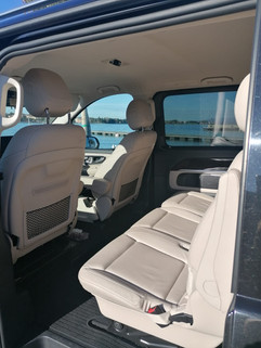 V Class interiors