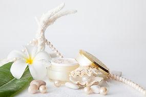 パールクリームと真珠
