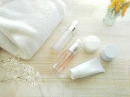 タオルと基礎化粧品