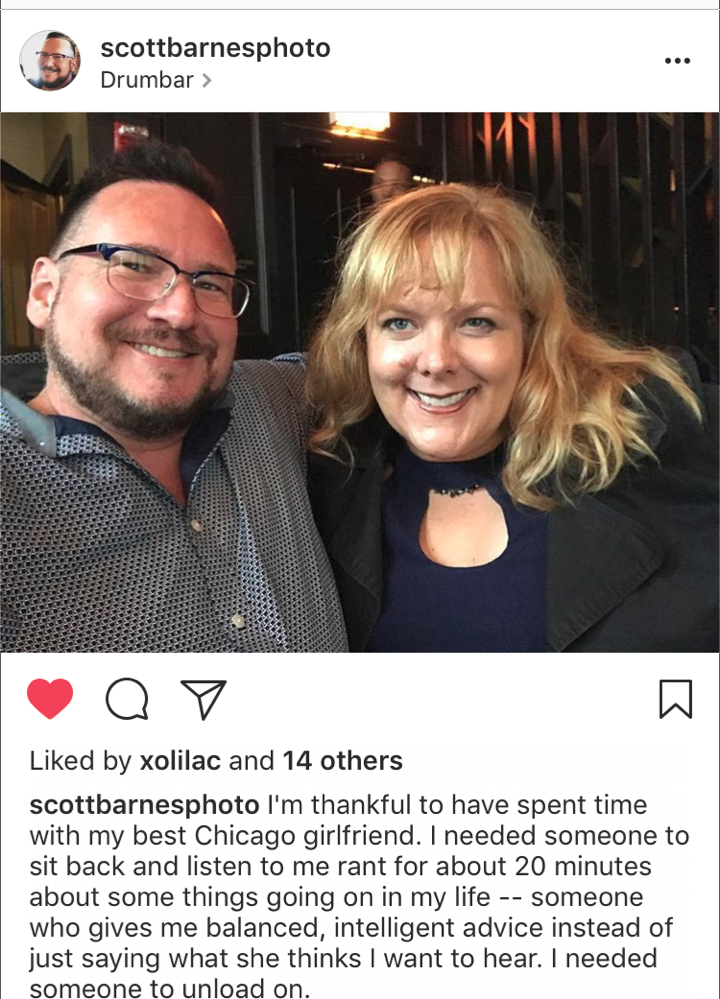 RIP A-List partner Scott Barnes