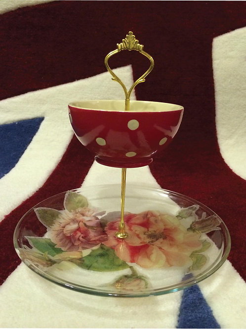 Decoupage Cake Stand | Free Booking