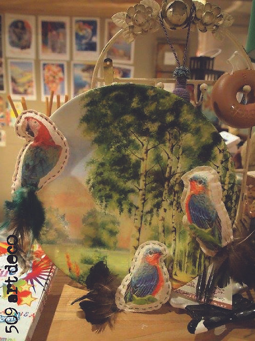 Decoupage Plate Deco | FREE Time (自由時間)