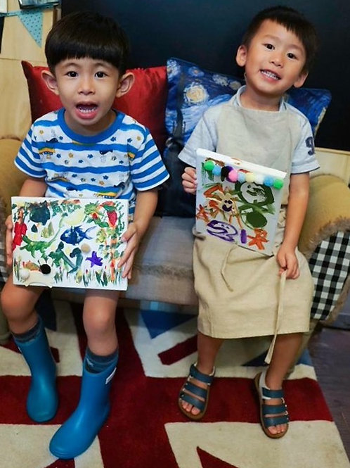 Kids in ART|12/7 to 16/8 (Tue 11:30~1:00pm) #SW003