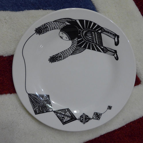 Tiger Art Ceramic Plate | 北歐插畫陶瓷碟