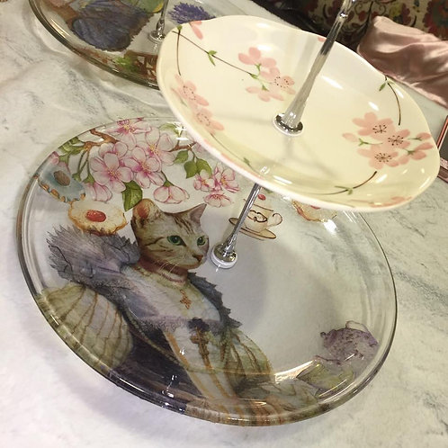 Decoupage Cake Stand | 16 Nov (Wed 10:30am~1:30pm)