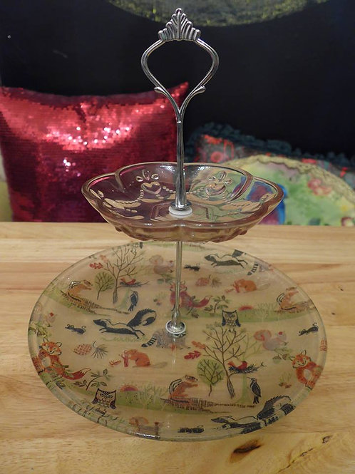 Decoupage Cake Stand | (Thu) 12 Feb 12:00-3:00pm