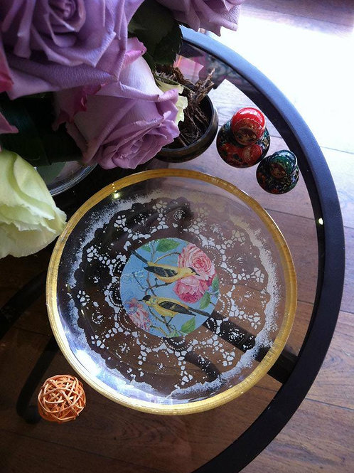 Decoupage Glass Plate | 1:00-4:00pm