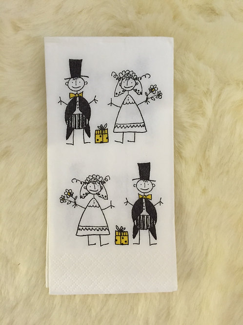 We're Napkins | 蝶古巴特餐巾 Tissue size (No.AD33034)