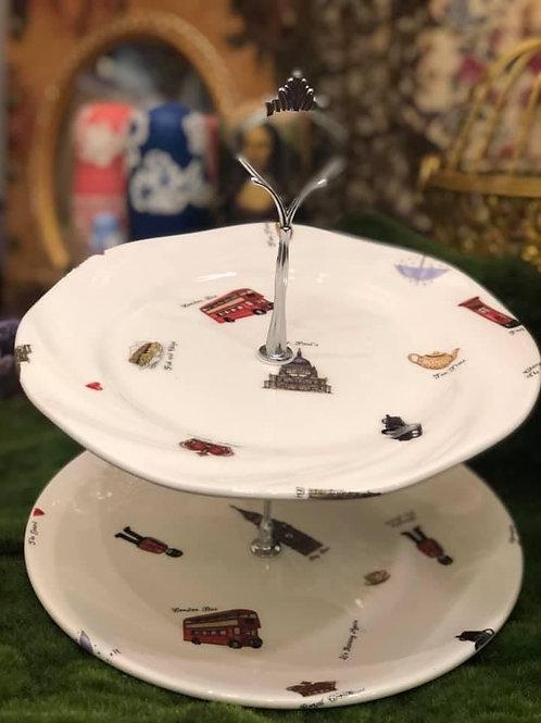 Crafternoon Tea | 白瓷貼歐式下午茶蛋糕架