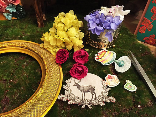 Antique Preserved Flower Frame| 復古保鮮花掛畫 23 Nov-Wed