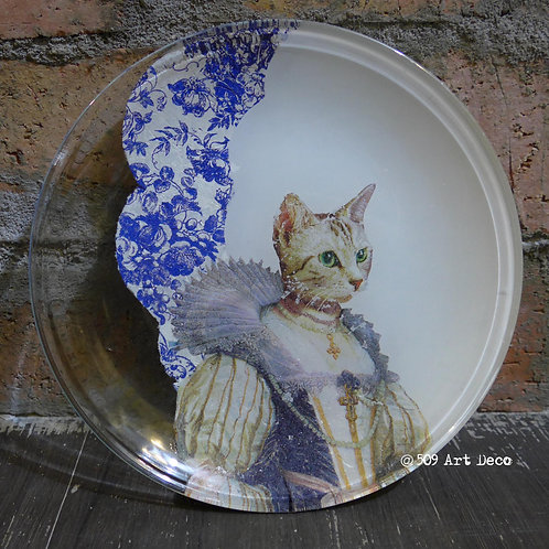 Decoupage Glass Plate | (Fri) 13 Feb 1:00-4:00pm