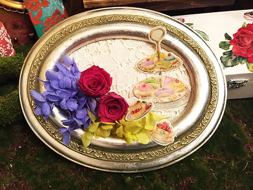 Antique Preserved Flower Frame| 復古保鮮花掛畫 30 Nov-Wed
