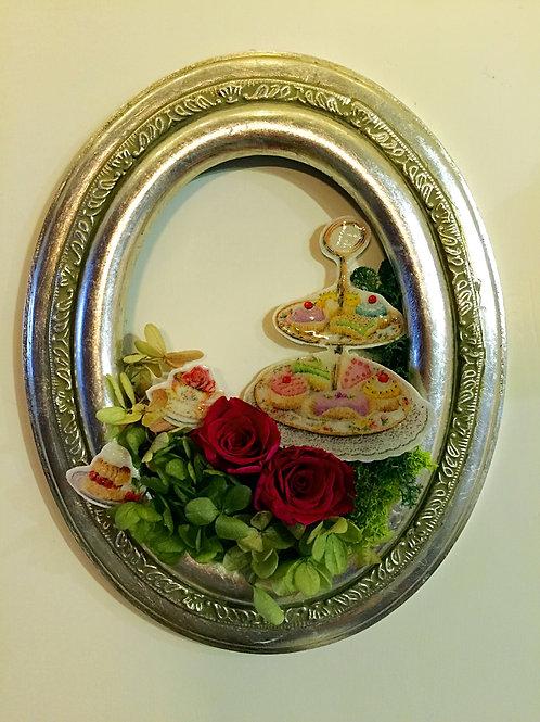Antique Preserved Flower Frame| 復古保鮮花掛畫 4 Nov-Fri
