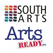 Southarts and Arts Ready logos one image