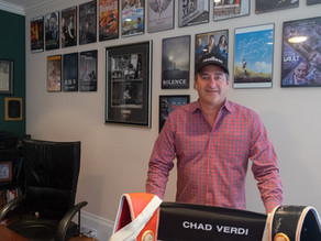 Film Producer Chad A. Verdi Talks Entertainment and Business as the World Is Under Siege