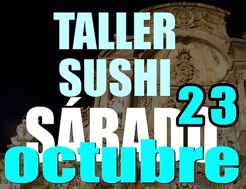 Taller/comida sushi