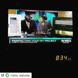 #Repost _metro_restores_・・・__andreanhartley is back at it with #diy amazingness -- this time turning