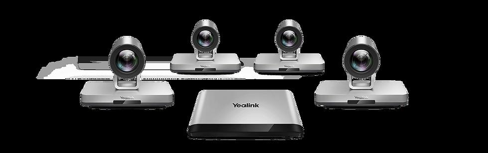 Videoconferência multicâmeras Yealink VC880