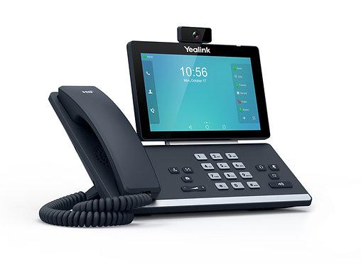 Aparelho Videophone SIP com fio Yealink T58V