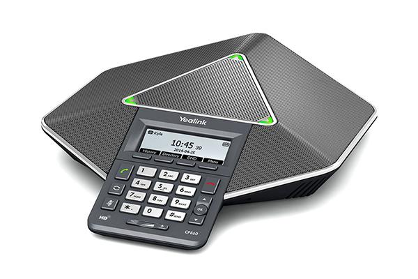Telefone SIP para Audioconferência CP860
