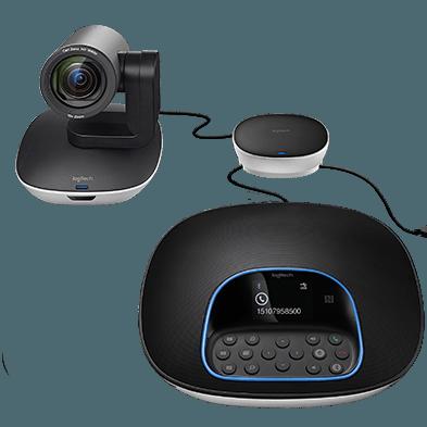 Videoconferência Logitech Group