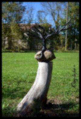 Sculpture arbre
