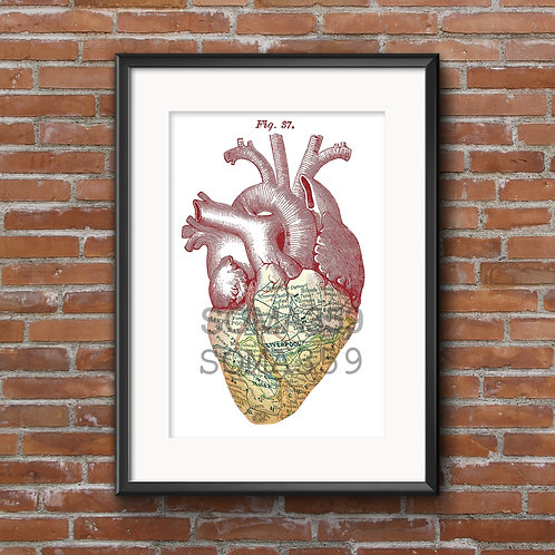 'MERSEYBEAT' FRAMED LIMITED EDITION COLOUR PRINT