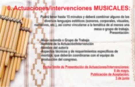 Nº6 PROPUESTA ACTUACIÓN MUSICAL
