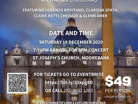 A Concert for Emiliani Italian College!