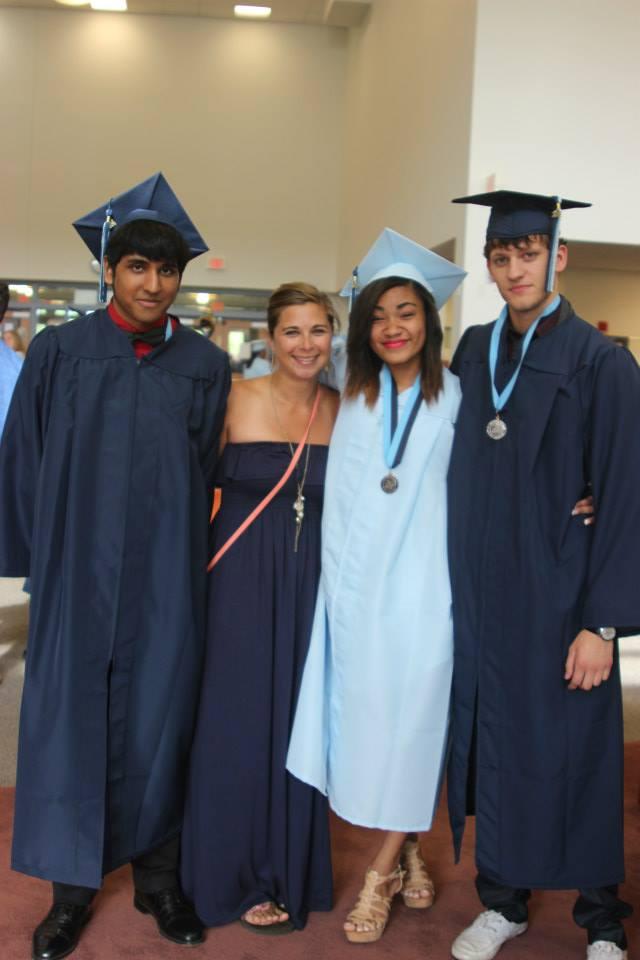 BlueTube Graduates& Miss. P
