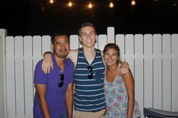 Alumni Dustin & Stefan & Miss. P