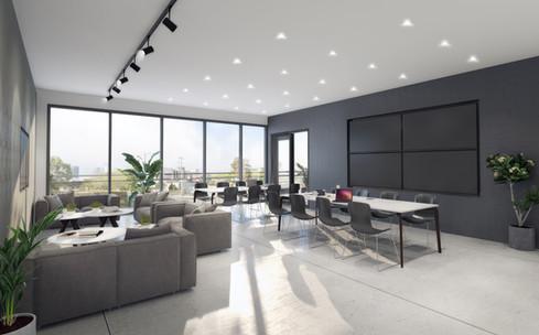 Interior office visualisation