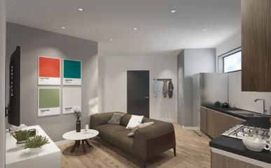 Interior open space visualisation
