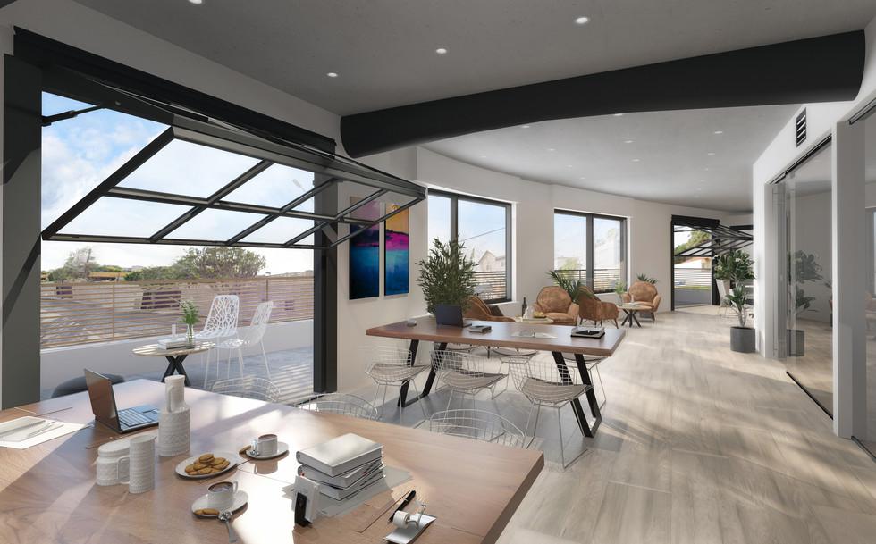 Interior caffe visualisation
