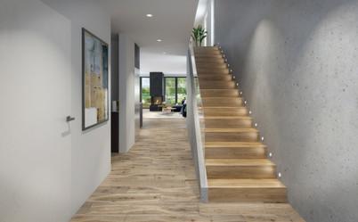 Interior hall visualisation