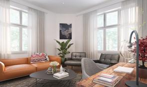 Interior living room visualisation
