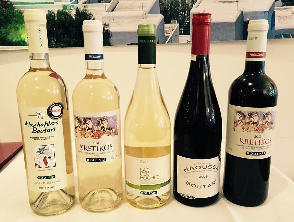 Boutari Grecian Wines