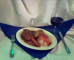 Chicken Riganati, and Kokonisto Leg of Lamb