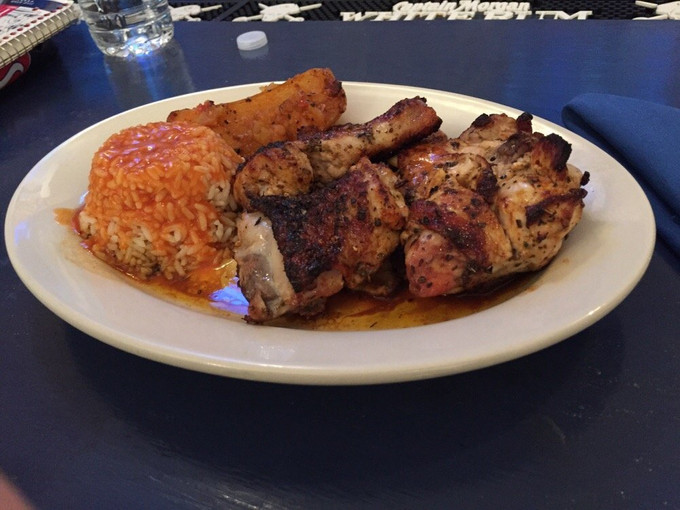 Try a Classical Dish From Greece Tonight at Papaspiros Like a Chicken Sharas, a Moussaka Dinner, or